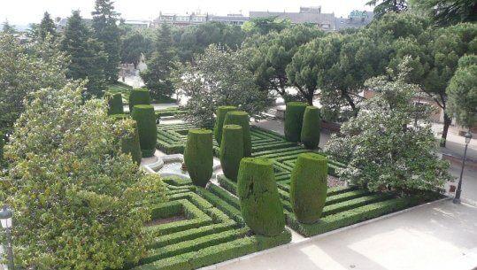 Jardines de Sabatini, Madrid, Španielsko