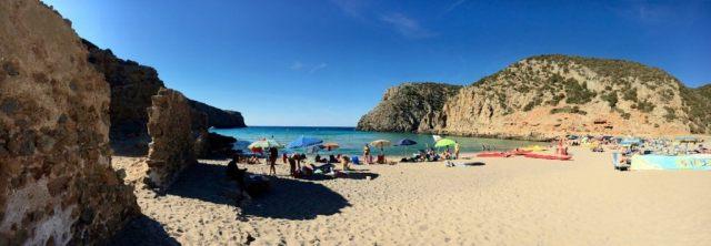 Cala Domestica, Sardínia, Taliansko, pláže Sardínie