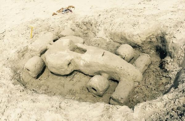 formula z piesku, pláže Sardínie