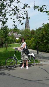 na bicykli, Holandsko