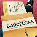 letenka Lyon-Barcelona, mesiac v pohybe