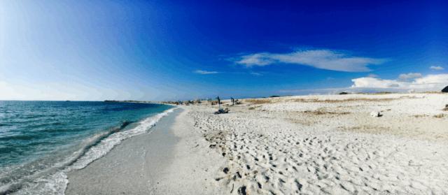 Mari Ermi, Sardínia, Taliansko, pláže Sardínie