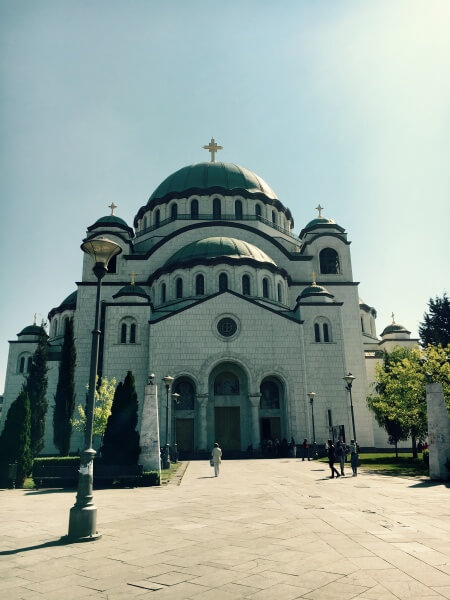 Katedrála svätého Sávu, Belehrad, Srbsko