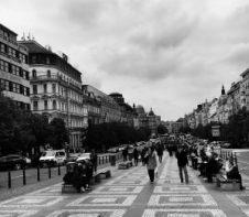 Václavské námestie, Praha, Česká republika