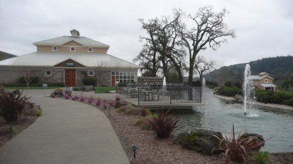 Vinárstvo v Napa Valley, Kalifornia, Spojené Štáty Americké, USA