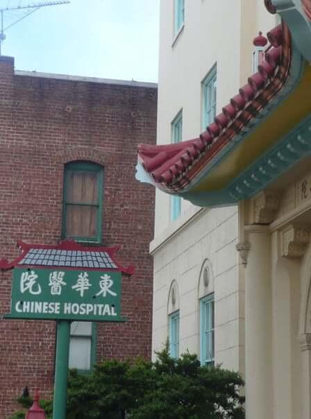 Nemocnica v Čínskej štvrti, San Francisco, Spojené Štáty Americké, USA