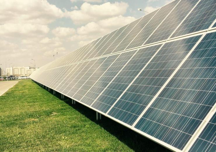 solárne panely, EXPO 2017, Astana, Kazachstan