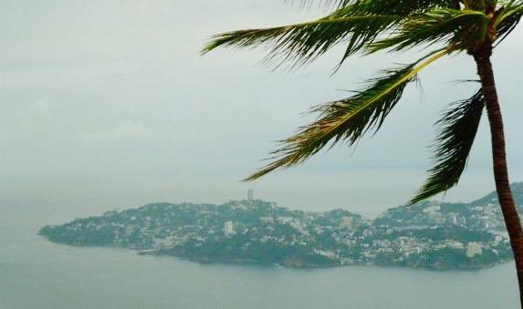 výhľad, Trouyetov kríž, Acapulco, Mexiko
