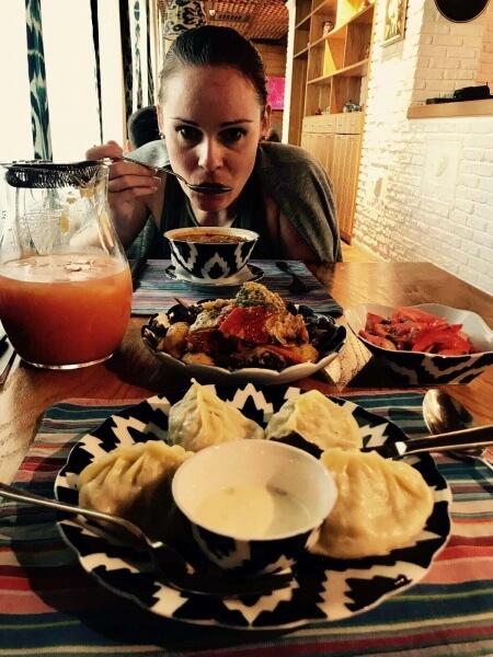 uzbecká reštaurácia ChirChic, Astana, Nursultan, Kazachstan, Lenka Says, LenkaSays, Travel & Lifestyle Blog, blog o cestovaní, blog o životnom štýle, cestovateľský blog, lajfstajlový blog