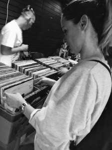 burza, vinylové platne