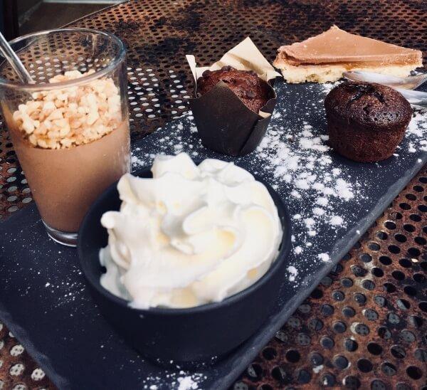 Cafe Gourmand, Grenoble, Francúzsko, francúzske dobroty