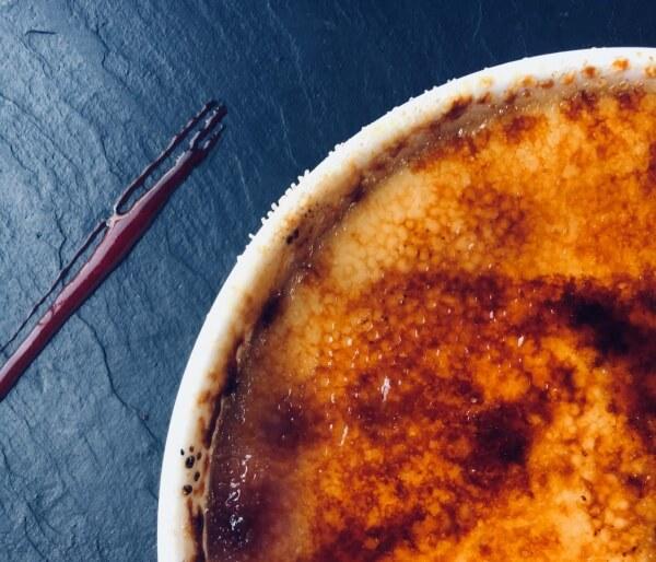 Crème Brûlée, Grenoble, Francúzsko, francúzske dobroty