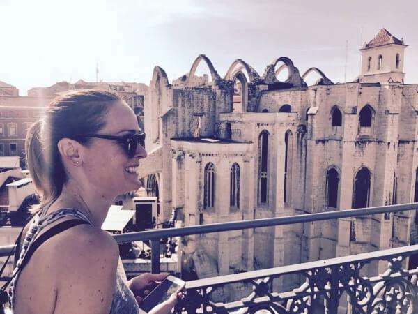 katedrála Carmo, Lisabon, Portugalsko, Lenka Says, LenkaSays, Travel & Lifestyle Blog, blog o cestovaní, blog o životnom štýle, cestovateľský blog, lajfstajlový blog