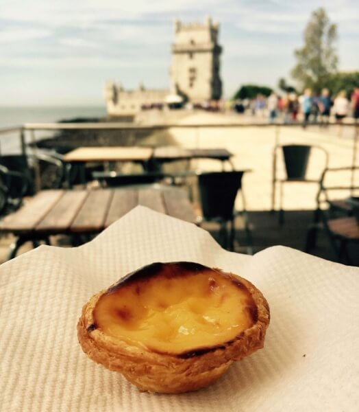 Pastel de Nata, Lisabon, Portugalsko, portugalské dobroty