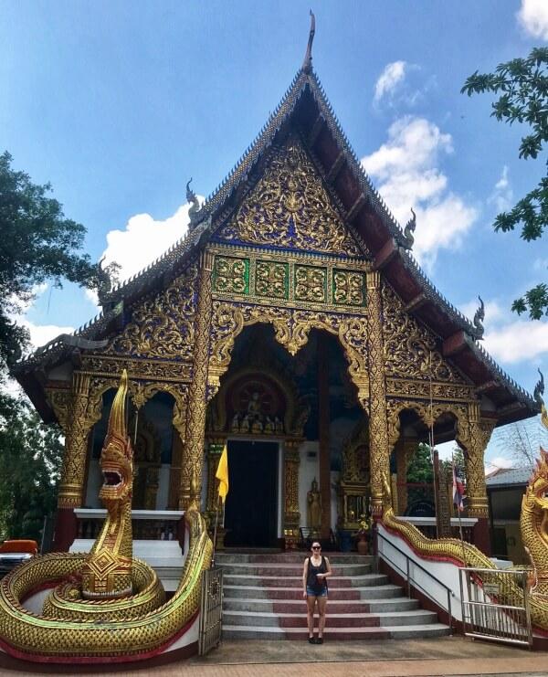 Wat Ming Mueang, Chiang Rai, Thajsko, Lenka Says, LenkaSays, blog o cestovaní, cestovateľský blog, blog o životnom štýle, travel & lifestyle blog