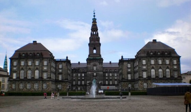 Christianborgský palác, Kodaň, Dánsko