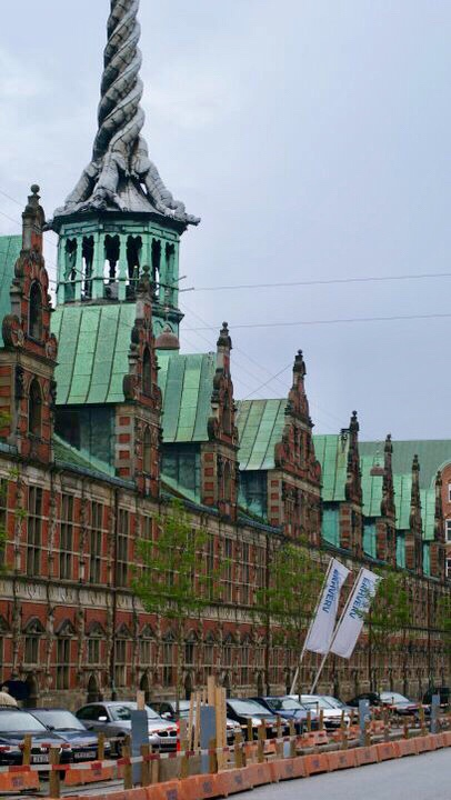 Burza Borsen, Kodaň, Dánsko