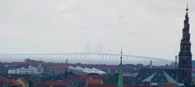 Oresundský most, Kodaň - Malmo, Dánsko - Švédsko