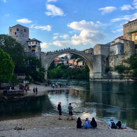 Starý Most, Mostar, Bosna a Hercegovina, Neretva