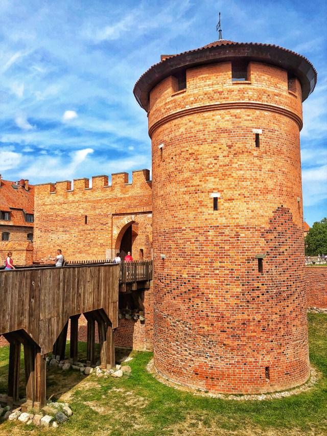 hrad Malbork, severné Poľsko