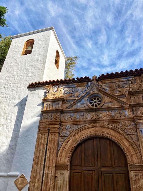 kostol Nuestra Seňora de Regal, Pájara, Fuerteventura, Kanárske ostrovy, Španielsko