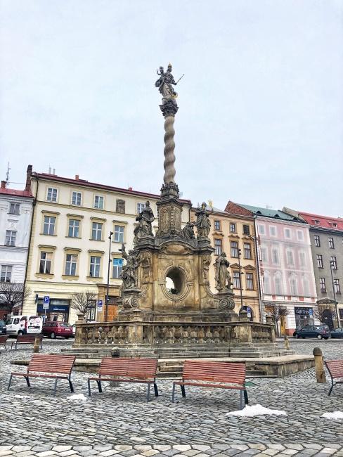 Mariánsky stĺp, Olomouc, Česká republika