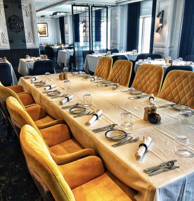 Reštaurácia Tuscan na lodi Celebrity Edge