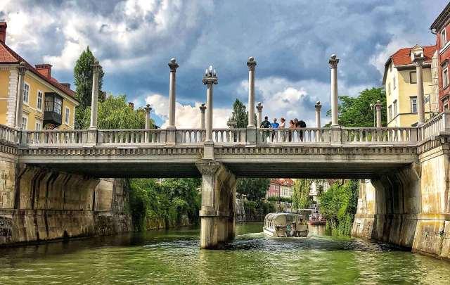 Šuštarski most, Obuvnícky most, Ľubľana, Slovinsko