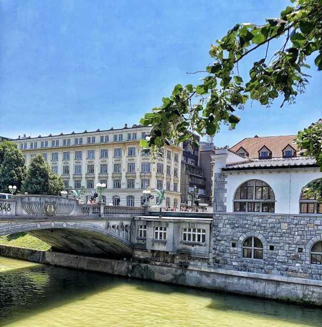 Zmajski most, Dračí most, Ľubľana, Slovinsko