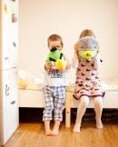 Session photo avec les enfants