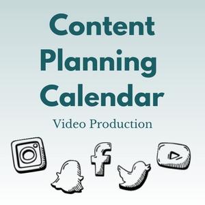 content planning calendar