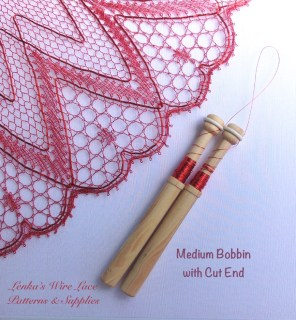 New Medium Bobbin with Cut End