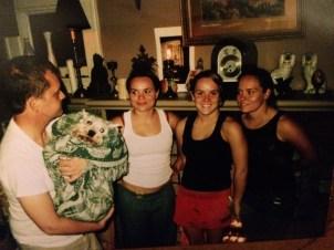 Ian, Liz, Rachael and Sarah