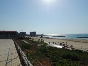 The beach in Herzliya