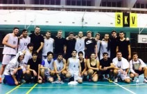 AAU Basketball Club in a match against Charles University 1st Medical Faculty team