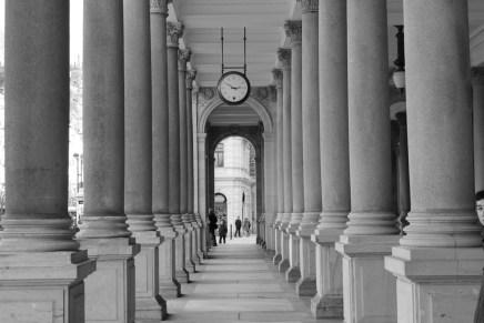 Halls of time, Karlovy Vary.