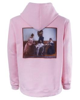 bulk xxxxl fleece pink embroidery pullover hoodies women