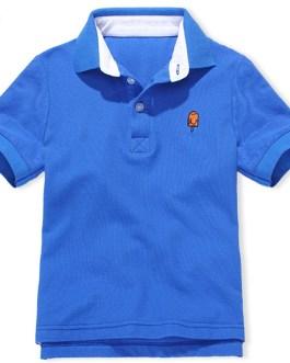 Wholesale 2020 New Fashion Polo Shirts Customized Logo for Kids Boys