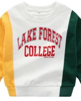 2020 Autumn Cotton Blank Girls Boys Kids Crewneck Sweatshirt