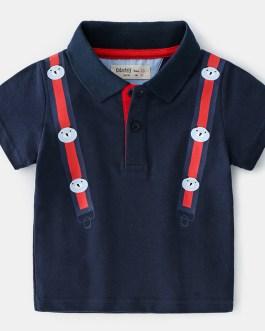 High Quality Clothing Shirt Comfortable Boys Children polo T shirts Kids
