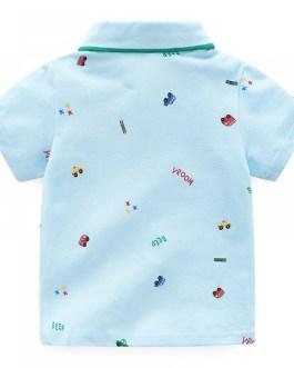 2019 Wholesale and Comfortable baby boys polo shirt Cotton Baby Clothing baby Boys T shirt cotton t shirt
