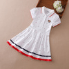 Girls All Over Printed Casual Cotton Short Sleeve Polo Shirt Collection