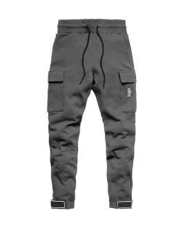 Mens Joggers Casual Pants Fitness Men Sportswear Tracksuit Bottoms Skinny Sweatpants Trousers Black Gyms Jogger Track Pants