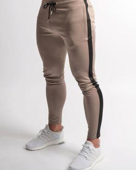 Mens Joggers Pants Fitness Men Sportswear Tracksuit Bottoms Skinny Sweatpants Trousers Gyms Jogger Track Pants Collection