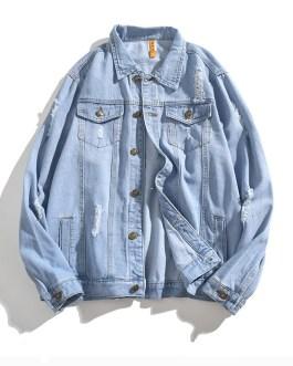 High Quality Mens Full Sleeve Custom Design Denim Jackets Collection