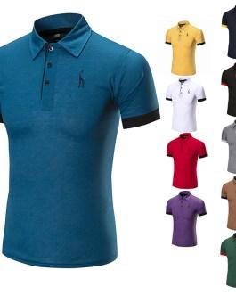 Casual Stylish Elastane Original Short Sleeve Verified Men's Polo t-shirts