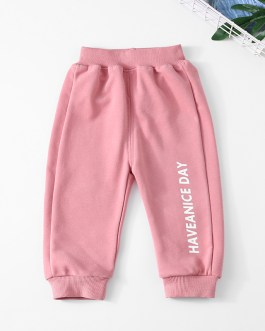 Little Boy Cotton Trousers Children Spring And Autumn Wear Corduroy Trousers Children Sports Pants
