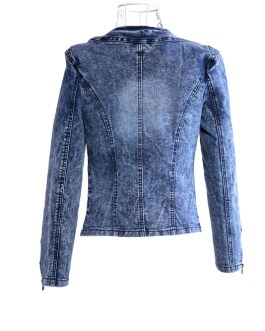 Casual Floral Print Women's Denim Jean Jackets Collection