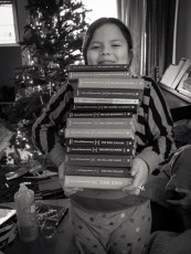 xmas day - lemony snicket series, each and every one of them