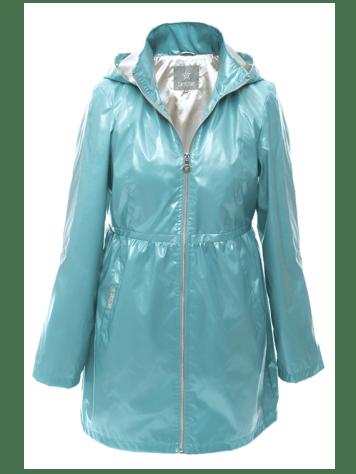 Dry Star Ocean Green raincoat